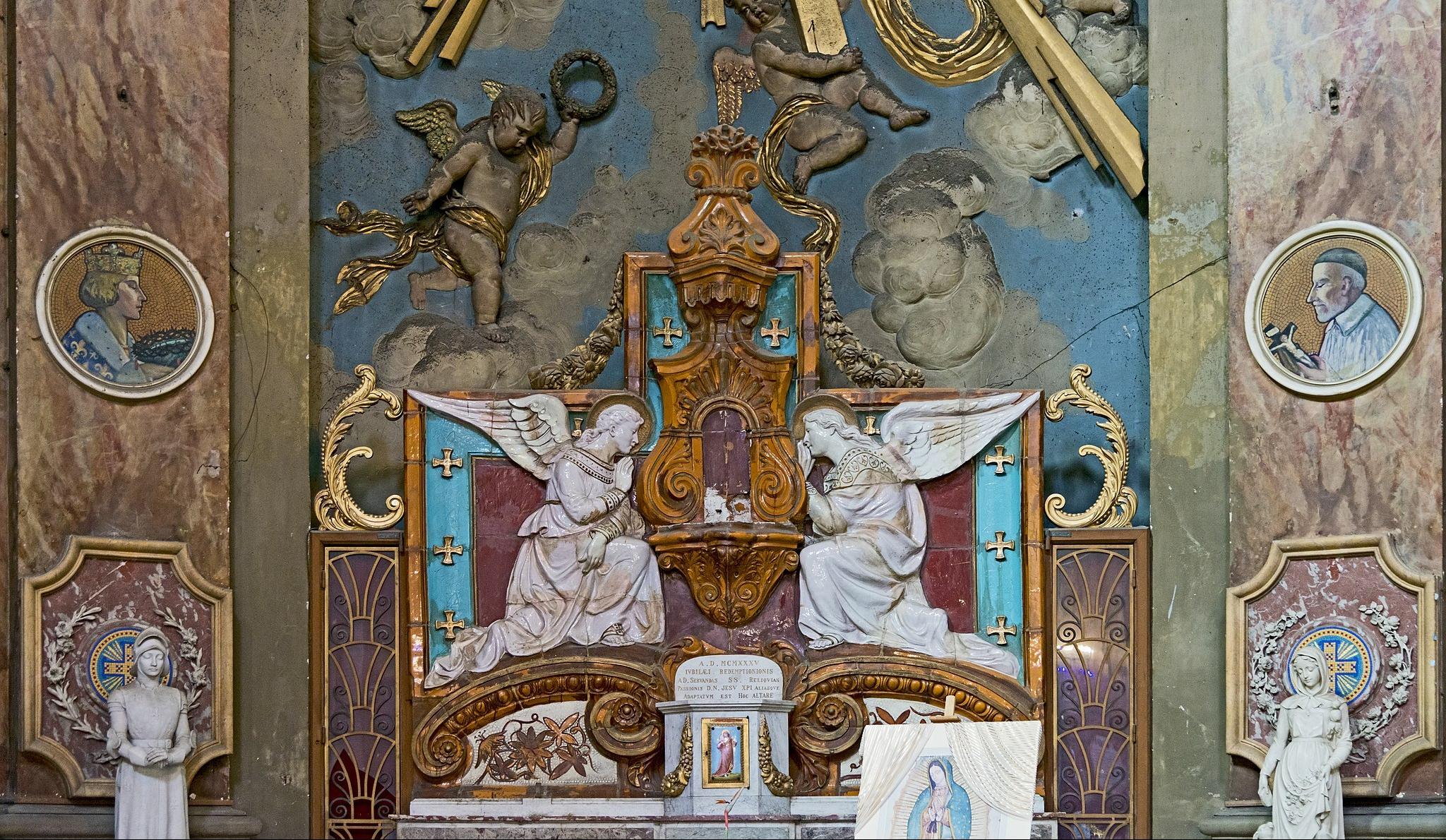 Notre-Dame de de la Daurade - Chapelle des anges adorateurs