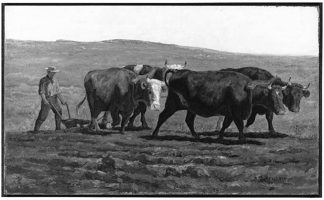 Thomas_R._Robinson_-_Oxen_Plowing_-_88.343_-_Museum_of_Fine_Arts